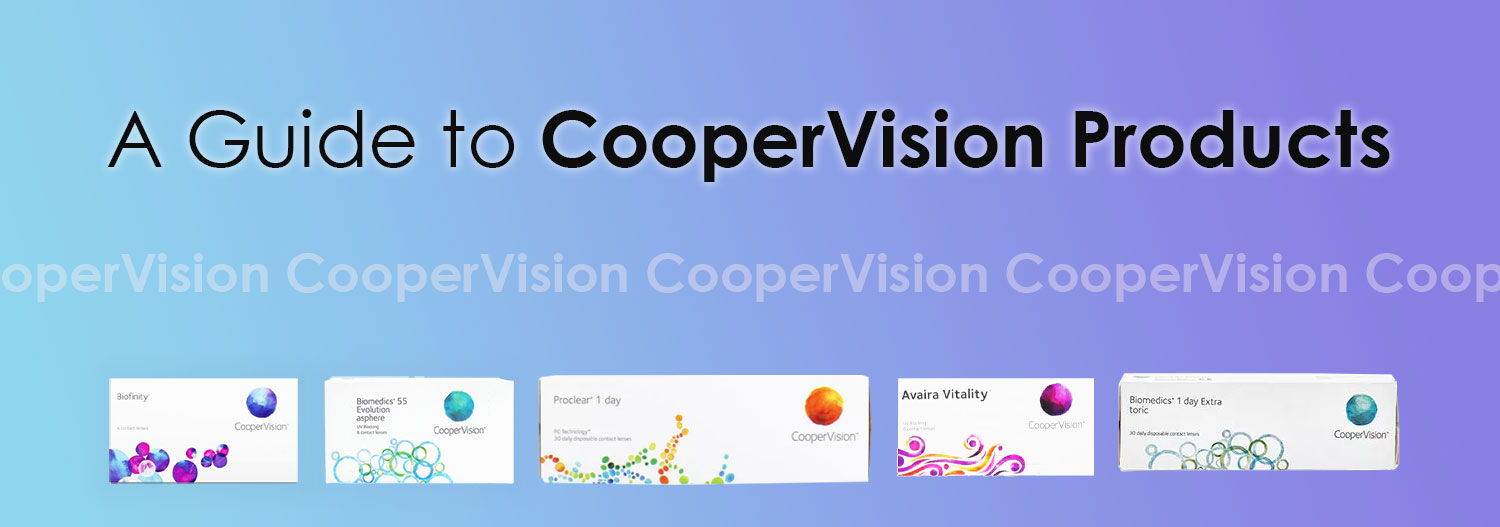 A Guide to CooperVision Products
