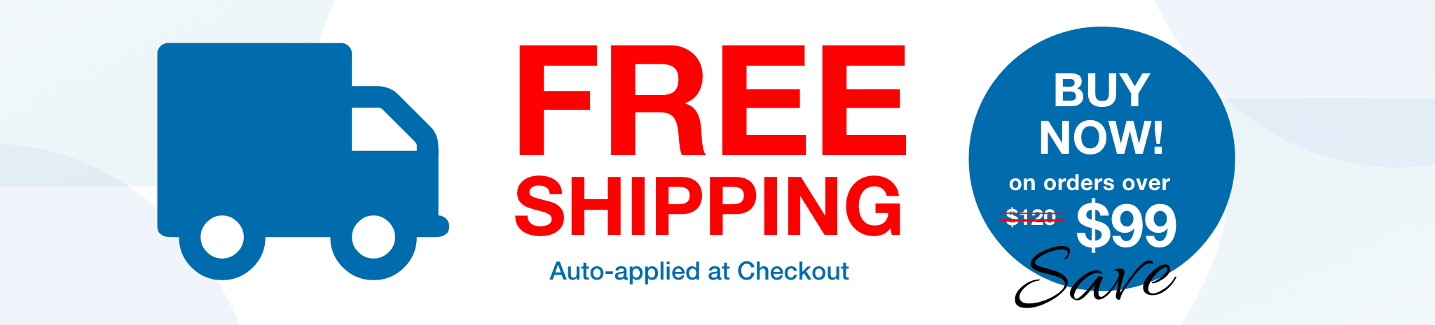free shipping $99 new