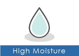 High moisture