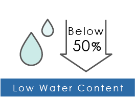 Low Water Content